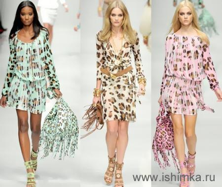 Модные женские летние платья